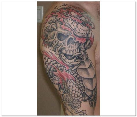 half sleeve dragon tattoo designs images designs
