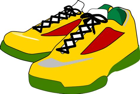 athletic shoe clipart clipart suggest