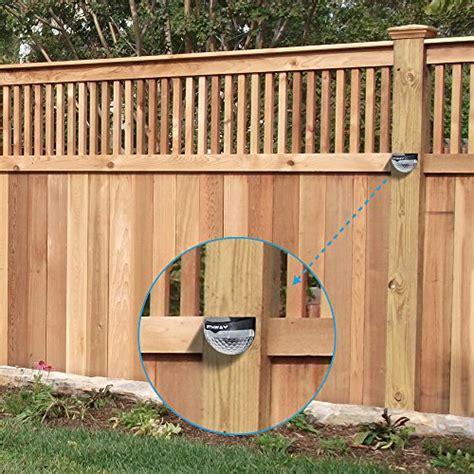 decorative solar post lights othway solar fence post lights wall mount decorative deck