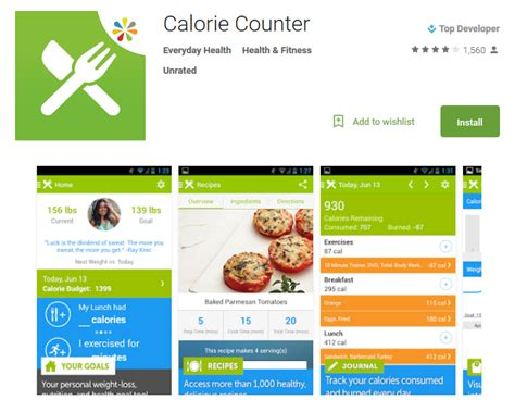 calorie counter app android top 10 calorie counter apps to track your calories andy tips