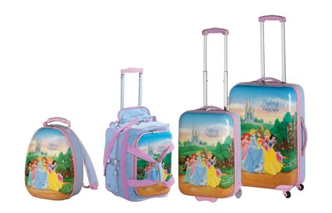disney kids luggage by heys quot disney princess quot 21 quot rolling