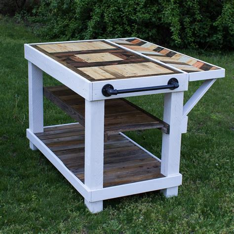 diy kitchen island table diy farmhouse kitchen island table made of repurposed