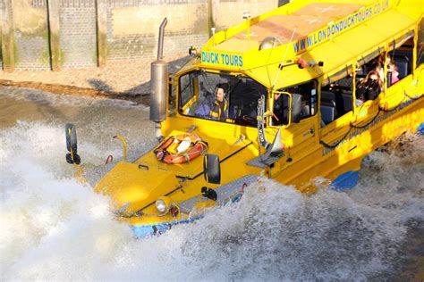duck boat tour route london duck tours exciting hibious tours of london