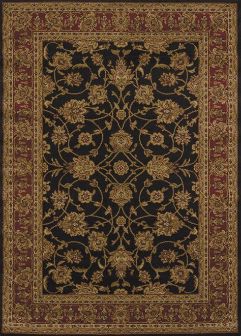 american weavers rugs united weavers of america affinity reza black area rug