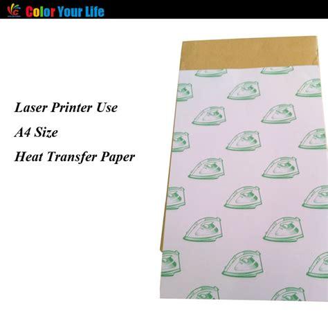light transfer paper t shirt clothes heat transfer printing hollow a4 light