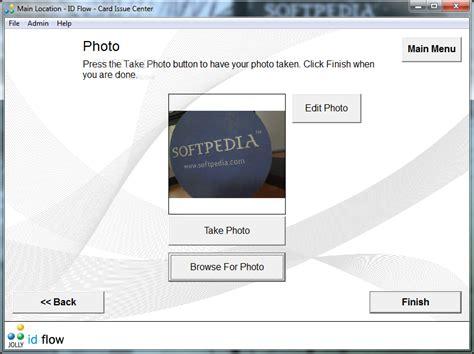 photo id card software free free print studio photo id card software last