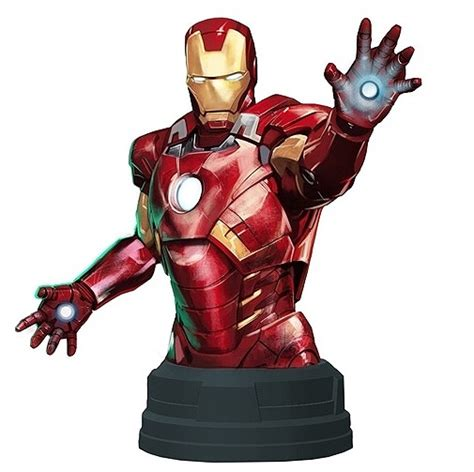 Miniatur Iron Marvel buy toys and models marvel iron deluxe mini bust archonia