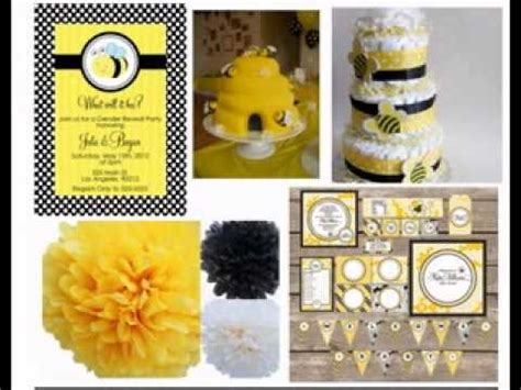 neutral baby shower decorations ideas youtube