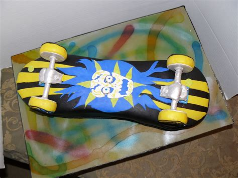 skateboard ideas skateboard cakes decoration ideas little birthday cakes