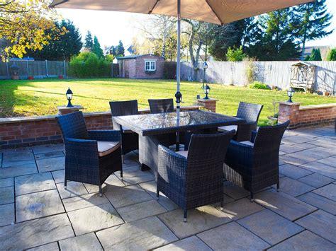 melbourne rattan garden furniture oblong 6 seater dining