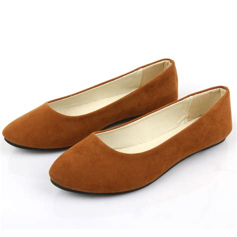 Flat Lv Import womens fashion ballet slip on flats loafers boat casual work single shoes ebay