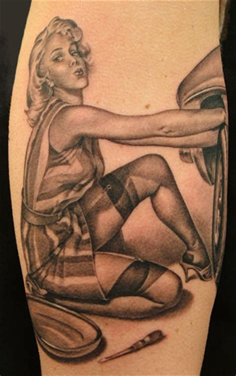 tattoo today s pin up girls tattoo designs