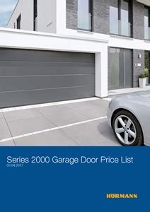 Overhead Door Price List Garage Door Manufacturer Guides Capital Garage Doors
