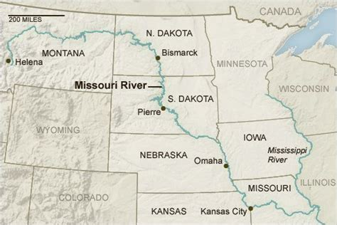 map of usa missouri river map of missouri river yahoo image search results