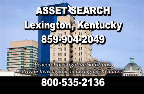 Asset Search Asset Search Beacon Investigative Solutions