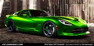 Dodge Viper Green 2013 Srt Viper Gts Loses Part Of Its Top And Gains A Limey
