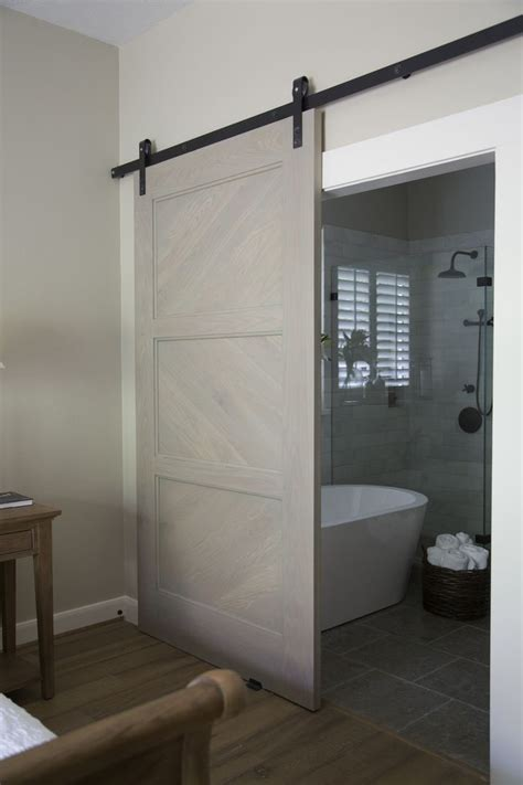 doors for small bathrooms best 25 modern barn doors ideas on pinterest bathroom