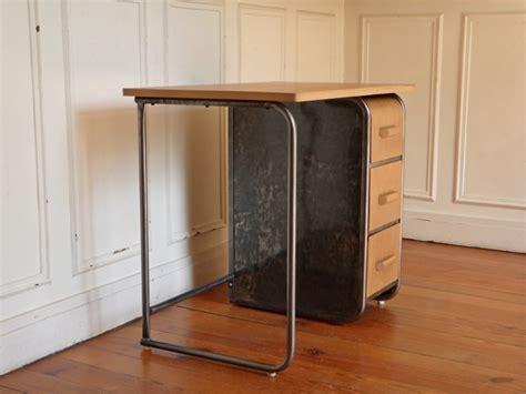steel bureau petit bureau en m 233 tal et bois vintage desk style