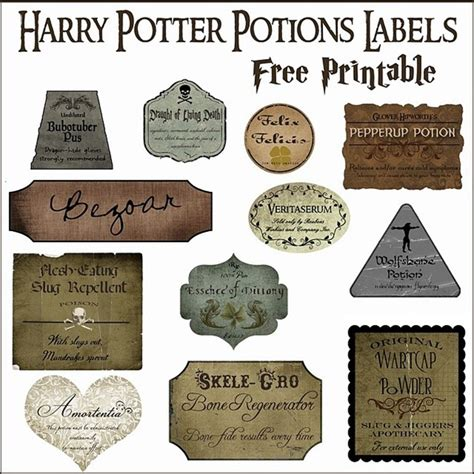 harry potter inspired hogwarts printable name tags 7 harry potter craft ideas printables everythingetsy com