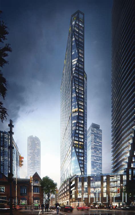architectural visualization  skyscraper project
