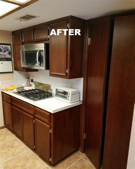 how to change cabinet color cabinet color change n hance ctw restorations