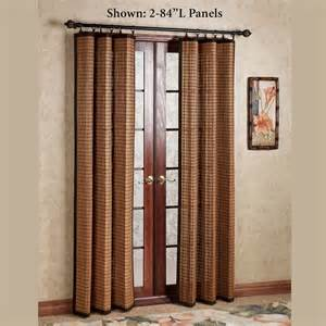 Bamboo Panel Curtains Bamboo Ring Top Curtain Panels
