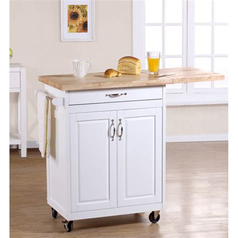 white kitchen cart island mainstays white kitchen island walmart com