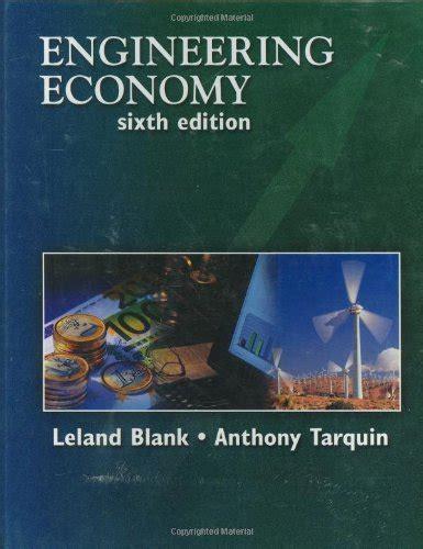Economics Engineering 6 engineering economy 6 edition avaxhome