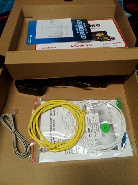 Modem Alcatel Lucent modem fribra 211 ptica alcatel lucent g 240w b telmex 300