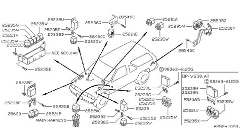 where is the starter located on a 1997 nissan maxima 1997 nissan pathfinder starter relay location wiring