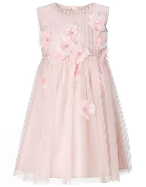 Flower Pink Tweety Dress baby bailey dress in pink wedding dress from monsoon