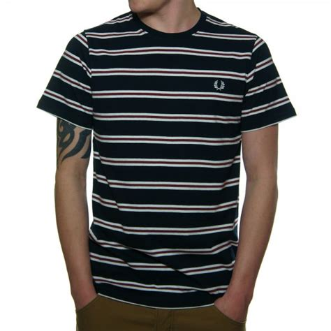 Sale N Co Rho Shoes Ori buy fred perry navy bomber stripe s t shirt fred perry