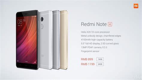 Xiaomi Redminote 4 xiaomi redmi note 4