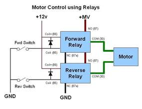 image gallery motor relay circuit