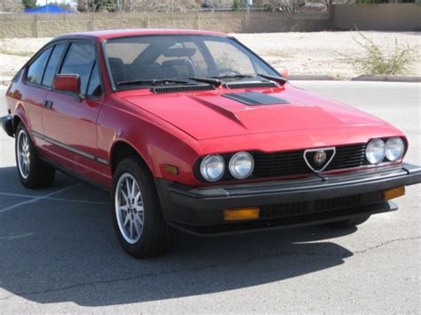 1985 Alfa Romeo Gtv6 by 1985 Alfa Romeo Gtv6 Gran Turismo Veloce For Sale Alfa