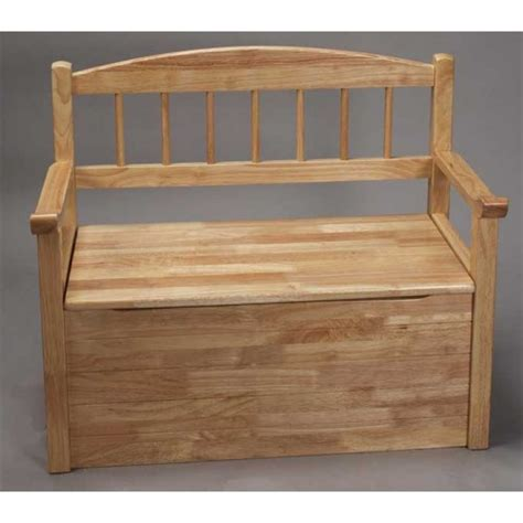 toy box and bench plans for a toy box bench quick woodworking projects