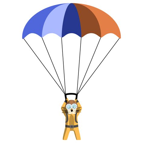 animation clipart parachute clipart animated pencil and in color parachute