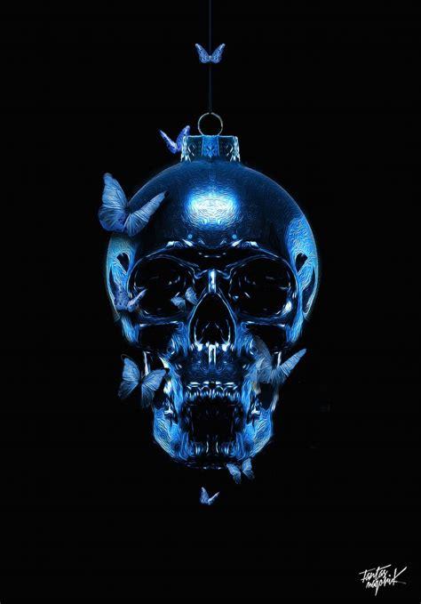 images  skulls  pinterest behance skull wallpaper    work