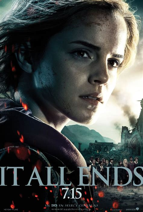 harry potter and the deathly hallows series 7 meyemind it all ends 7 15 posters