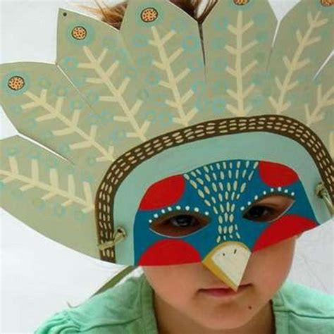How To Make A Paper Mask - 20 diy mask crafts for hative