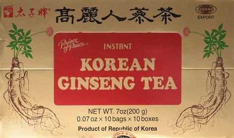 Korean Ginseng Tea diet ginseng slim tea for weight loss
