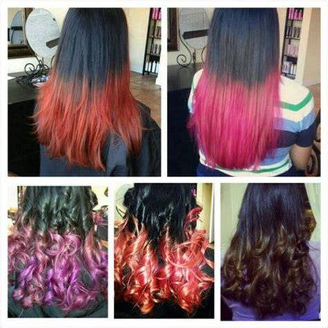 types of ombre hair color different hair colors different hair color ombre and