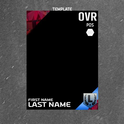 madden custom card template closed for now selling m16 card template graphics