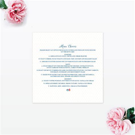 vintage floral wedding invitations vintage floral invitation menu invited luxury