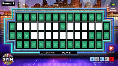 Wheel Of Fortune Powerpoint Game Youth Downloadsyouth Wheel Of Fortune Templates