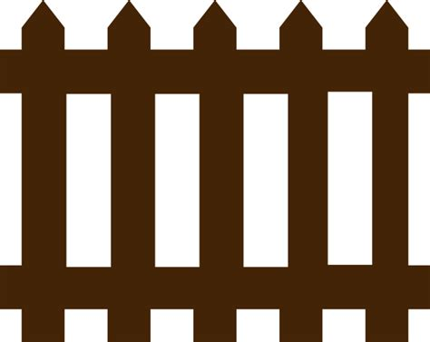 fence clipart fence clip at clker vector clip