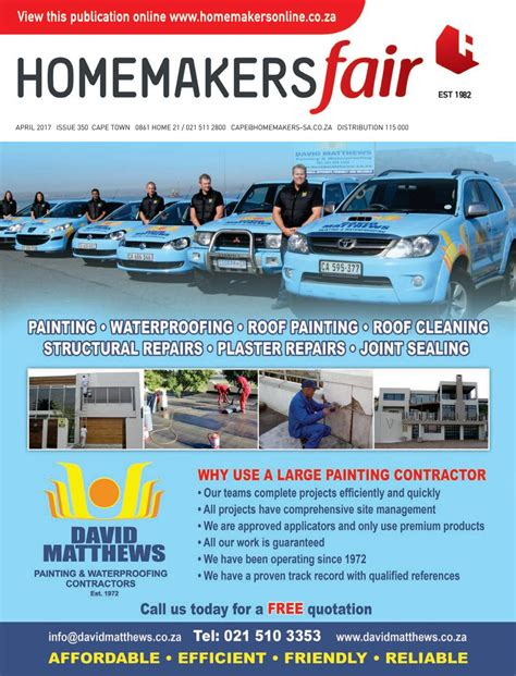 al awnings cape town homemakersfair cape town april 2017 by homemakers issuu