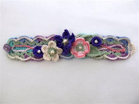 crochet bracelet with crochet bracelets deborah soltesz