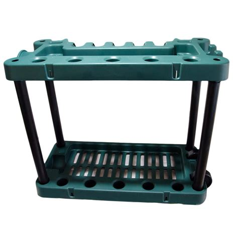 garden tool rack trolley with wheels pisces
