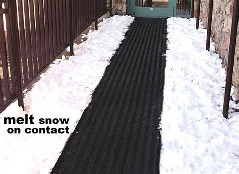 Heated Driveway Mat by Snow Melting Heat Mats Snow Melting Systems Heated Floor Mats For Stairs Driveways